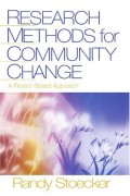 Research methods for community change: a project based approach