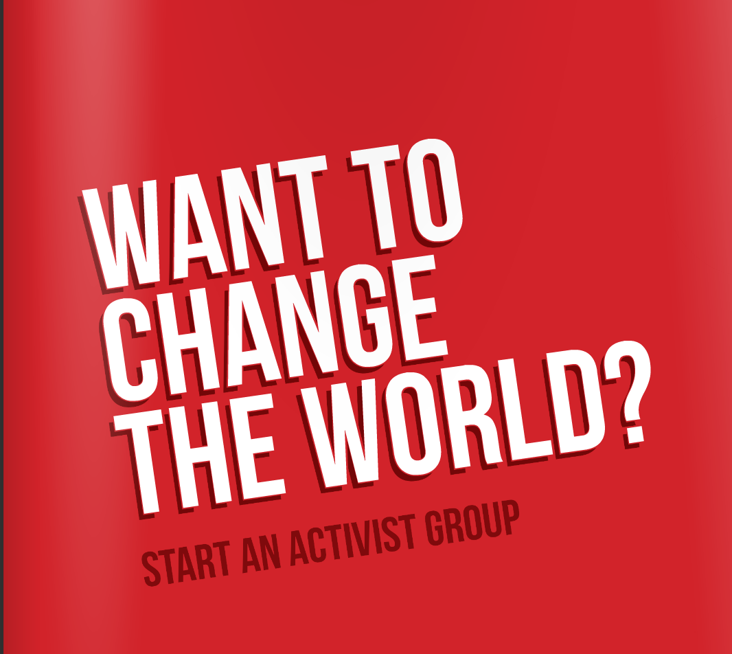Want to change the world?