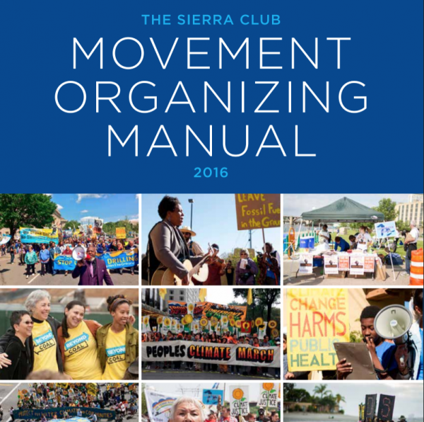 movement organising manual